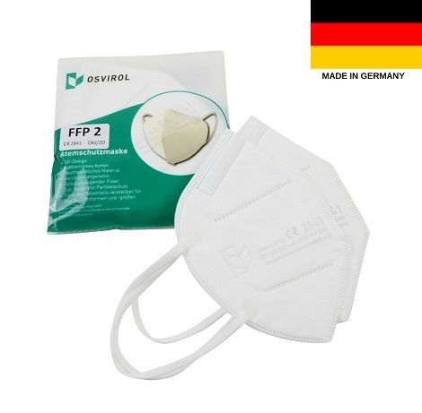 Osvirol Masken Kaufen - FFP2 Maske deutscher Hersteller ...