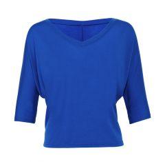 Flowy Boxy V-Neck T-Shirt