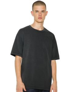 Unisex French Terry Garment Dyed T-Shirt Marke American Apparel