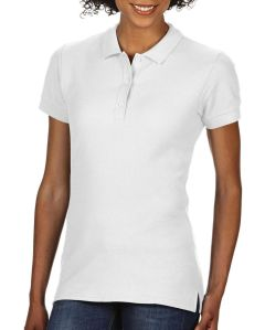 Premium Cotton Ladies` Double Piqué Polo Marke Gildan