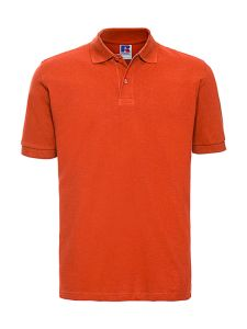 Men`s Classic Cotton Polo Marke Russell Europe