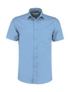Tailored Fit Poplin Shirt SSL