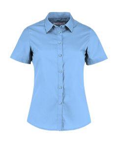 Women`s Tailored Fit Poplin Shirt SSL