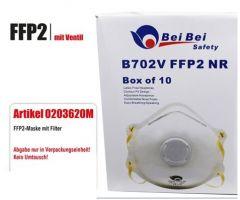 Atemschutzmaske FFP2 mit Ventil