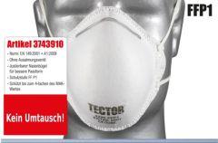 Atemschutzmaske FFP1 Tector