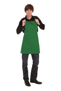 Kochschürze für Männer mit Tasche 70 x 75 cm dunkelgrün