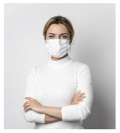 Textil Mund Nasen Maske