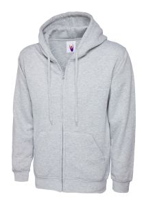 Adult Classic Full Zip Hooded Sweatshirt