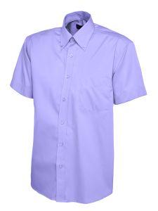 Mens Pinpoint Oxford Short Sleeve Shirt