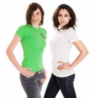 Tshirts bedrucken und mit Logo Text und Motiv besticken